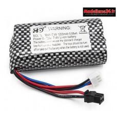 Batterie Li-ion 7.4V 1200mAh pour Funtek Trail battery - FTK-MT2001001