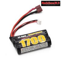 Batterie Funtek li-ion 7.4V 1700 mA 15C Dean : FTK-21001