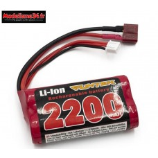 Batterie option pour Funtek STX li-ion 7.4V  : FTK-22001