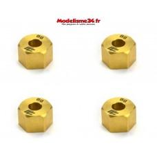 Carisma - Hexagones de roues lourds en laiton SCA-1E - CARI16083
