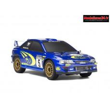 Carisma SUBARU WRC 1999 GT24 1/24ème 4x4 RTR brushless : CARI80068