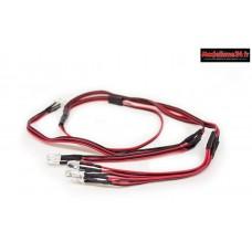 Carisma Kit LED pour Chassis SCA-1E : CARI15916