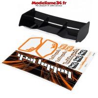 Aileron noir racing pour buggy 1/8ème hobbytech - HT-501601