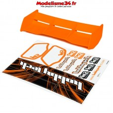 Aileron Orange  racing pour buggy 1/8ème hobbytech - HT-501603