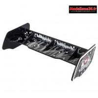 HobbyTech - Aileron buggy 1/10 plastique noir+stickers : HT-501551