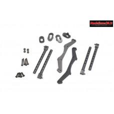 HobbyTech - Kit fixation carrosserie ST10 et BXR-MT : REV-138
