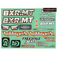 Planche de stickers Hobbytech BXR.MT: STICK-BXR.MT