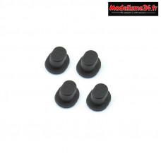 Hobbytech - Inserts de guidage d'axes STR8 - STR-037
