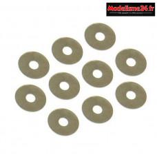 Hobbytech - Rondelles de differentiel STR8 3.6x12x0.1mm - STR-073