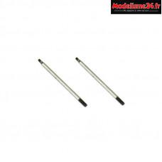 Hobbytech - Tiges d amortisseurs arrieres 65mm - HT-585006