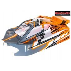 Hobbytech - Carrosserie NXT EVO 4s orange/grise  - CA-293