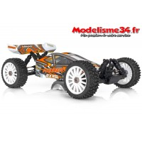 Buggy 1/8 RTR BX8 Runner orange type SL charbon