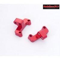 HobbyTech - Supports de tirants arriéres en aluminium (D G)  : REV-OP11