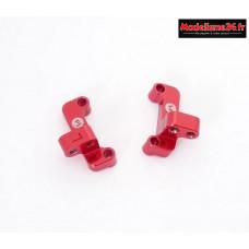 HobbyTech - Supports de tirants avants en aluminium (D G)  : REV-OP14