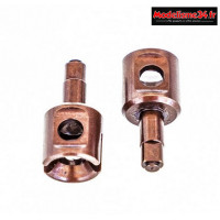HobbyTech - Noix de diff avant ou arrière allégée en acier traité dure : REV-OP34
