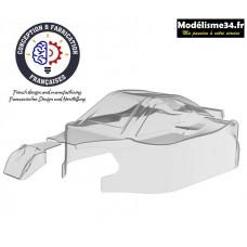 Hobbytech Carrosserie non peinte 1/8ème Spirit type RR21 en Lexan® 1mm : CA-294
