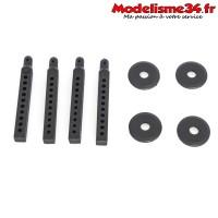 Hobbytech - Set de support de carrosserie CRX - CRX-050