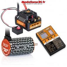 Combo brushless 80Amp SCT WP + moteur 4P 3660SL 3150Kv+carte de prog- KN-COMBO-C2