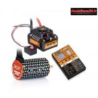 Combo brushless 80Amp SCT WP + moteur 4P 3660SL 2750Kv+carte de prog- KN-COMBO-C1