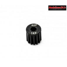 Konect - Pignon moteur 48dp ø3,175mm 14 dents en acier : KN-184214