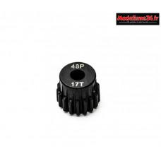 Konect - Pignon moteur 48dp ø3,175mm 17 dents en acier : KN-184217