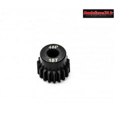 Konect - Pignon moteur 48dp ø3,175mm 18 dents en acier : KN-184218