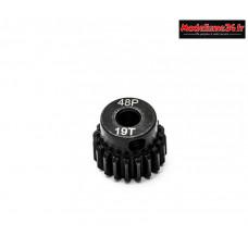 Konect - Pignon moteur 48dp ø3,175mm 19 dents en acier : KN-184219