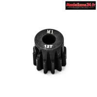 Konect - Pignon moteur M1 ø5mm 12 dents en acier : KN-180112