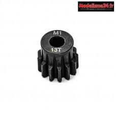 Konect - Pignon moteur M1 ø5mm 13 dents en acier : KN-180113
