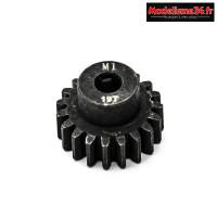Konect - Pignon moteur M1 ø5mm 19 dents en acier : KN-180119