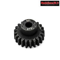 Konect - Pignon moteur M1 ø5mm 21 dents en acier : KN-180121