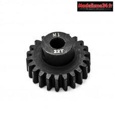 Konect - Pignon moteur M1 ø5mm 22 dents en acier : KN-180122