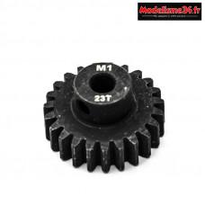Konect - Pignon moteur M1 ø5mm 23 dents en acier : KN-180123