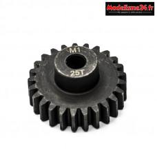 Konect - Pignon moteur M1 ø5mm 25 dents en acier : KN-180125