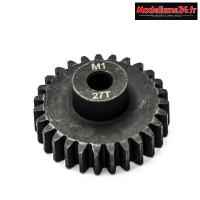 Konect - Pignon moteur M1 ø5mm 27 dents en acier : KN-180127
