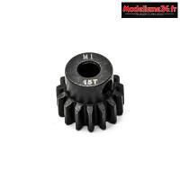 Konect - Pignon moteur M1 ø5mm 15 dents en acier : KN-180115
