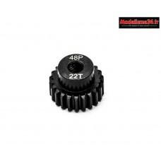 Konect - Pignon moteur 48dp ø3,175mm 22 dents en acier : KN-184222