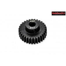 Konect - Pignon moteur 48dp ø3,175mm 31 dents en acier : KN-184231