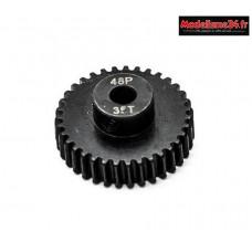 Konect - Pignon moteur 48dp ø3,175mm 35 dents en acier : KN-184235