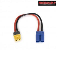 Adaptateur de charge EC5/XT60 : KN-130023