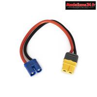Adaptateur de charge EC3/XT60 : KN-130025