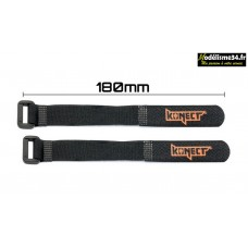 Konect Strap pour accus LiPo 180 mm (2 pieces) : KN-LIPO.STRAP-180