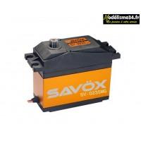 Servo 1/5eme SAVOX DIGITAL 35kg / 0,15sec. 7.4V : SX-SV-0235MG