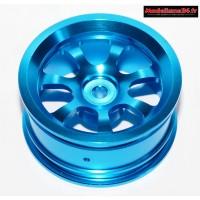 Jantes alu 1/10 bleue : m518