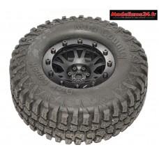 Pneus et jantes crawler 1.9 avec pneus Mud Country ( 2 ) : m532