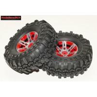 Pneus et jantes alu crawler 1.9 top qualité Rocks Tyre ( 2 ) : m541