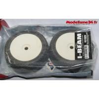 Pneus AKA I-Beam truggy soft montés collés : 14111SRW