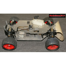 Rabbit GTI racing 1987 4x2 carrosserie verte
