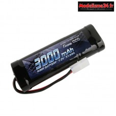 Batterie Gens Ace Nimh 3000mAh 7,2v prise Tamiya : GE2-3000-1TA