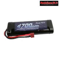 Batterie Gens Ace Nimh 4700mAh 7,2v prise Deans : GE2-4700-D1